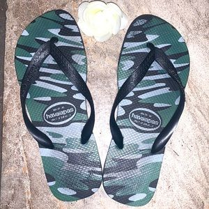 Havaianas Camo Flip Flops